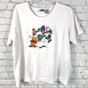 Disney Vintage Winnie the Pooh Short Sleeve TShirt